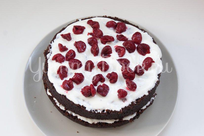 """Торт """"Шоколад на кипятке"""" в мультиварке - шаг 9"""