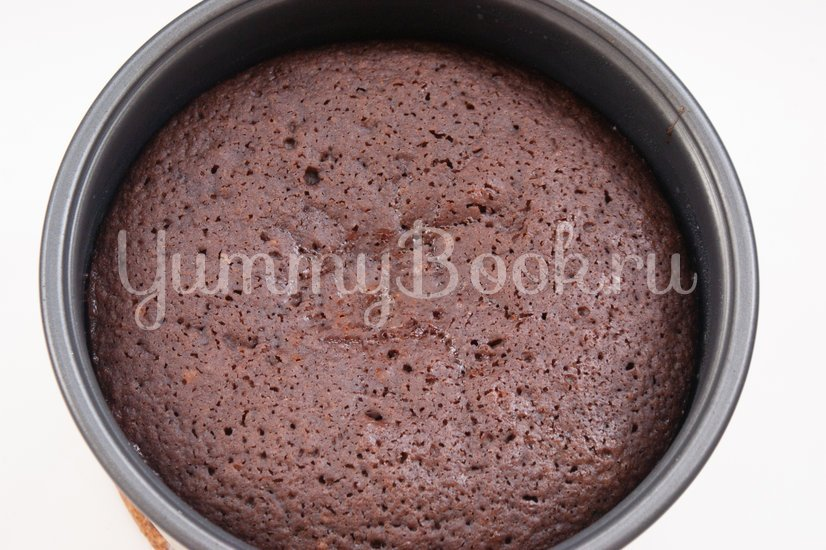 """Торт """"Шоколад на кипятке"""" в мультиварке - шаг 7"""