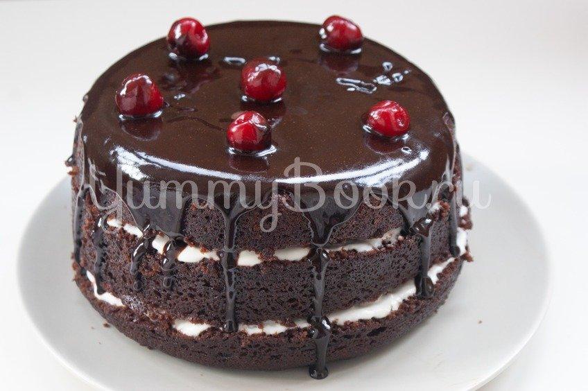 "Торт ""Шоколад на кипятке"" в мультиварке"