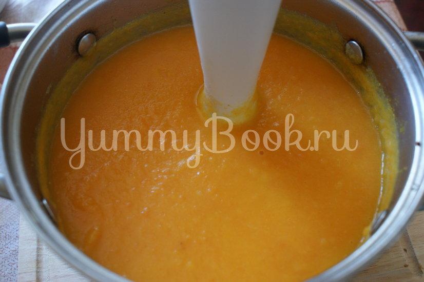 Морковный суп-пюре со сливками - шаг 5