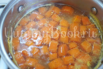 Морковный суп-пюре со сливками - шаг 4