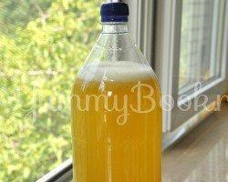 Имбирный лимонад с медом - шаг 4