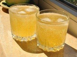 Имбирный лимонад с медом