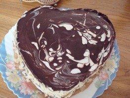 """Шоколадный торт """"Нежная Маркиза"""" (без муки)"""