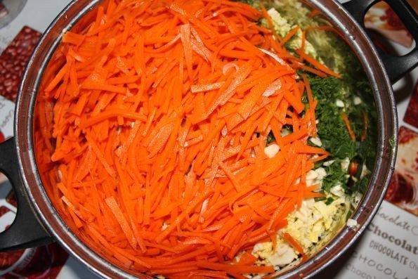 Корейский салат с языком - шаг 9