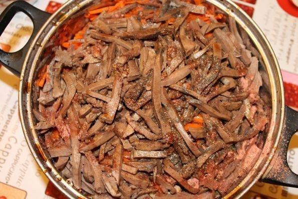Корейский салат с языком - шаг 11