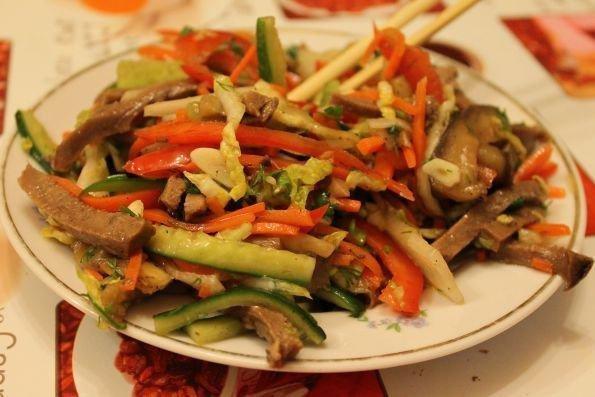 Корейский салат с языком - шаг 13