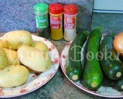 Суп-пюре из кабачков цукини - шаг 1