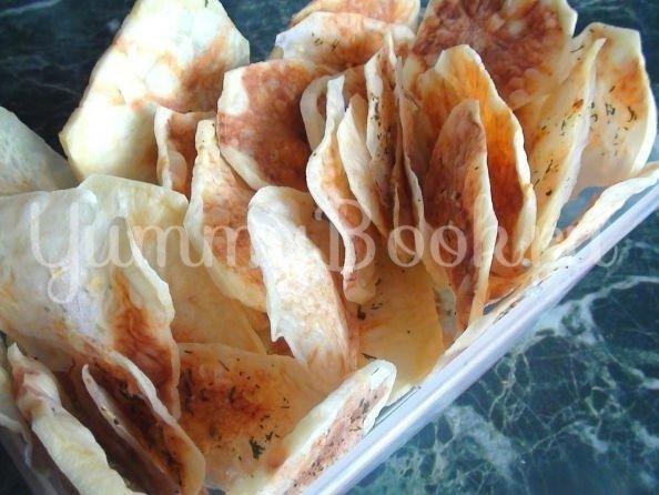 Домашние чипсы в микроволновке