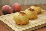 Кексы с персиками