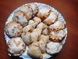 Творожное печенье с начинками