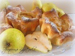 "Пироги ""Лохматые"" с грушами"