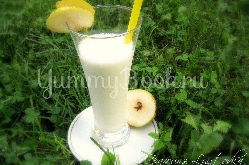 Коктейль молочный грушевый
