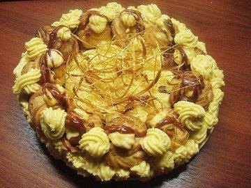 Торт Сент Оноре (SAINT HONORE)