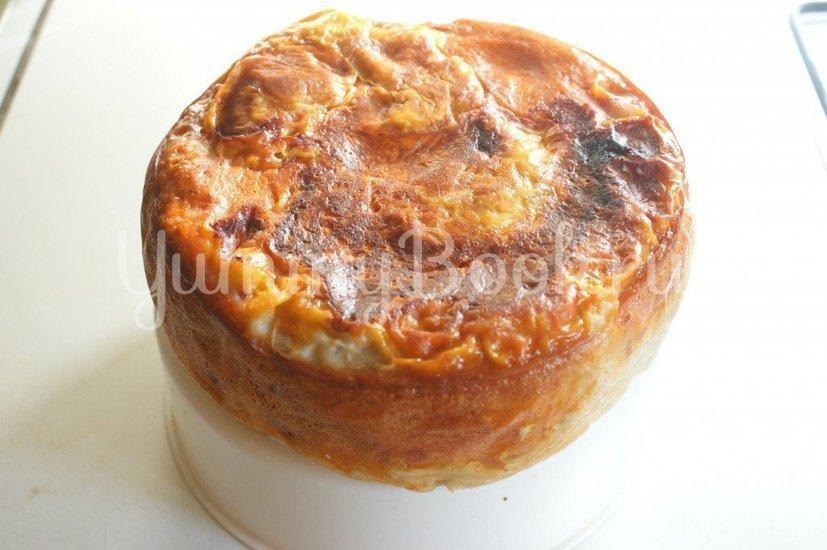 Пирог из лаваша с фаршем в мультиварке - шаг 7