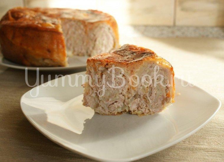 Пирог из лаваша с фаршем в мультиварке - шаг 8