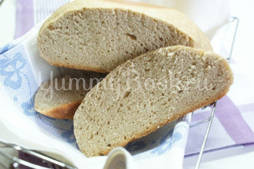 Ржаной домашний хлеб без дрожжей на закваске, рецепт с фото и ... | 564x848