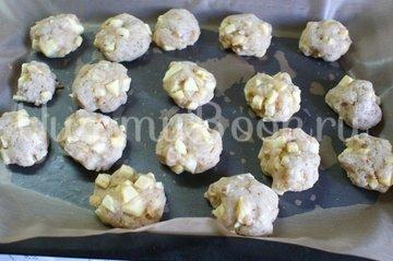Яблочное печенье - шаг 4