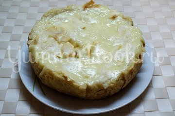 Яблочный пирог Цветаевский в мультиварке - шаг 8