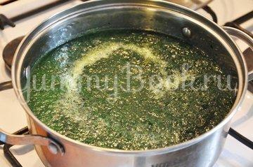 Суп со шпинатом - шаг 5