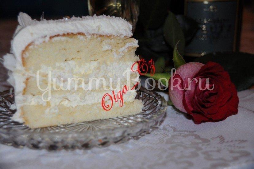 Ананасово-кокосовый торт - шаг 2