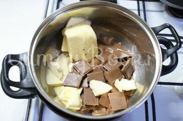 Пирожное-торт Брауни в мультиварке - шаг 1