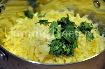 Куриные тефтельки под сырным соусом - шаг 5