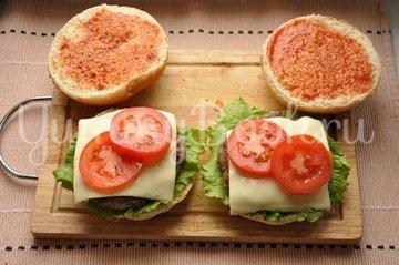 Бургер - шаг 10