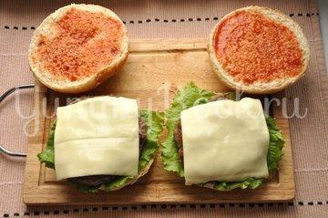 Бургер - шаг 9