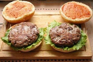 Бургер - шаг 8