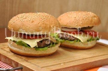 Бургер - шаг 13