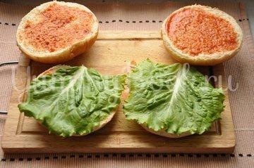 Бургер - шаг 7