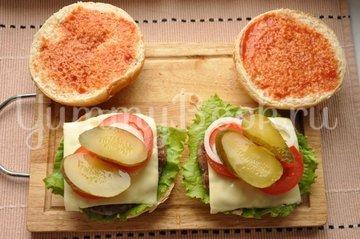 Бургер - шаг 12
