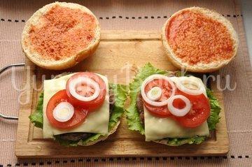 Бургер - шаг 11