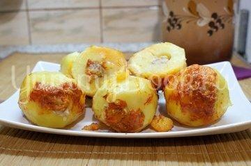 Фаршированный картофель (в мультиварке) - шаг 7