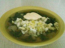 Суп весенний с крапивой