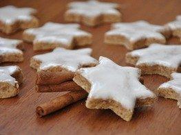 """Рождественское печенье """"Коричные звезды"""" (Zimtsterne)"""