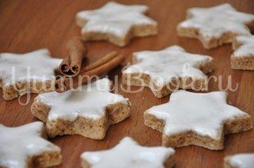 """Рождественское печенье """"Коричные звезды"""" (Zimtsterne) - шаг 14"""