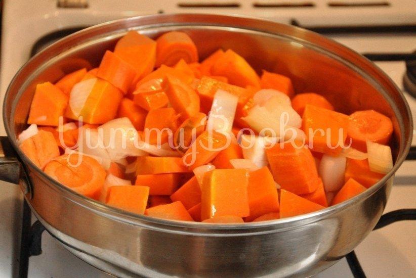 Тыквенный суп-пюре с имбирем - шаг 1