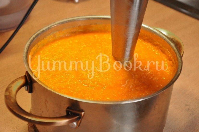 Тыквенный суп-пюре с имбирем - шаг 4