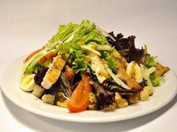 Салат Цезарь с курицей и креветками, пошаговый рецепт с фото