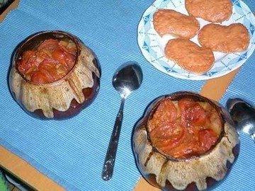 Блюдо в горшочке по-восточному