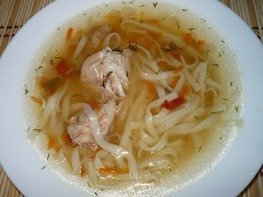 Куриный суп лапша из мультиварки