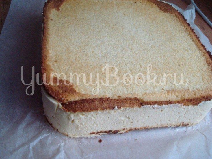 """Торт """"Птичье молоко"""" (квадратный) - шаг 6"""