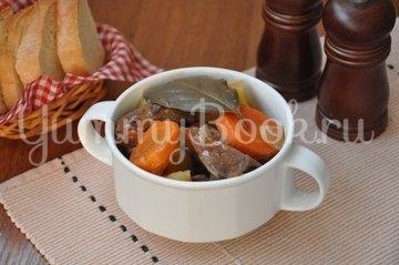 Рагу из говядины с фасолью, пошаговый рецепт с фото