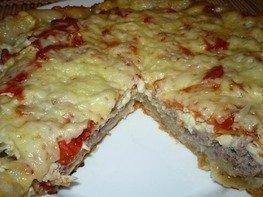 Домашняя пицца из мультиварки