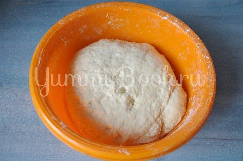 Дрожжевые пирожки с капустой - шаг 2