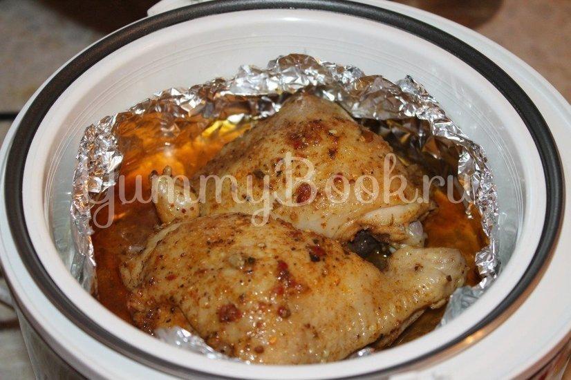 Курица в собственном соку в мультиварке - шаг 5