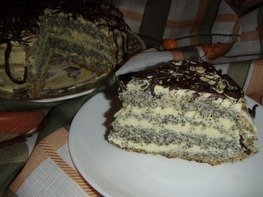 """Торт """"Маковка"""""""