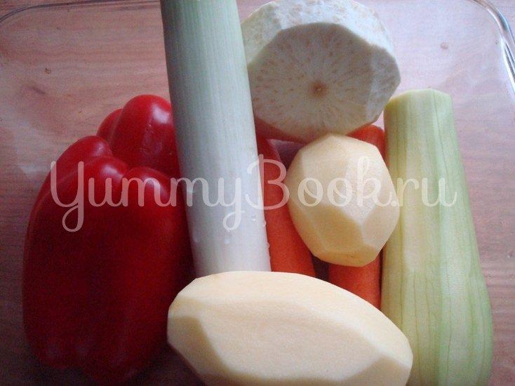 Ароматный овощной суп-пюре - шаг 1